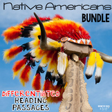 Native American Indians Reading Passages & Questions BUNDLE
