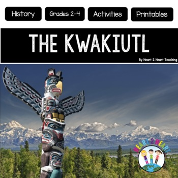 Native Americans - The Kwakiutl- {Articles, Activities, Vocabulary, & Flip Book}
