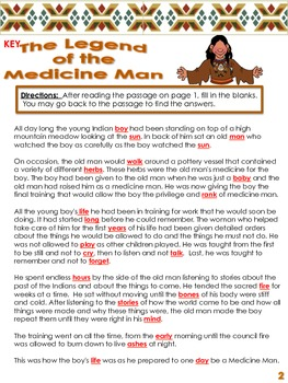 Native Americans:  The Legend of the Medicine Man