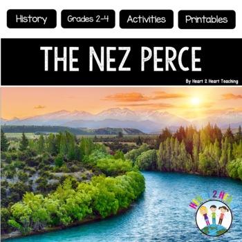 Native Americans - Nez Perce - {Articles, Activities, Voca