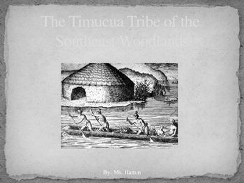 FREEBIE Native Americans - Timucua PowerPoint