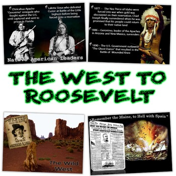 The West to President Roosevelt