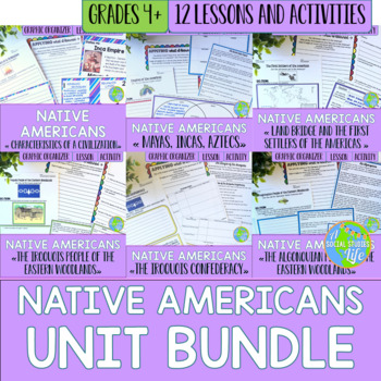 Native Americans UNIT BUNDLE