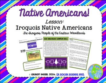 Native Americans UNIT BUNDLE with BONUS card sets