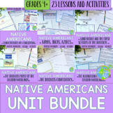 Native Americans UNIT BUNDLE with BONUS Activities