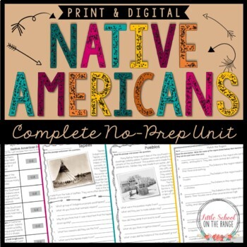 Native American No-Prep Unit