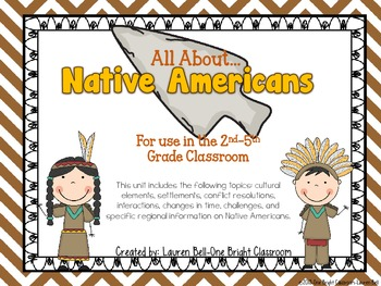 Native Americans Unit {Compatible with the 2nd-5th Grade Classroom}