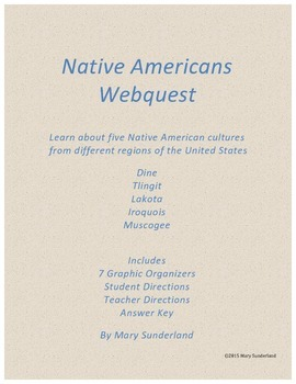 Native Americans Webquest