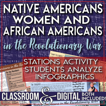 Native Americans, Women and African Americans in the Revolutionary War