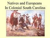Native Americans and European Settlers powerpoint with note taker