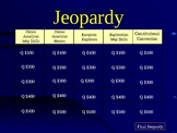 Native Americans and Explorers PowerPoint Jeopardy