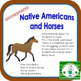Native Americans and Horses