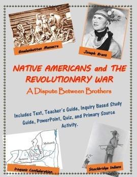 Native Americans and the American Revolution mini-unit, in