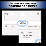 Native Americans graphic organizer