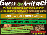 "Native Americans of California ""Guess the artifact"" game: PPT w pictures & clues"