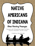 Native Americans of Indiana Close Reading Passages - Distance Learning Packets