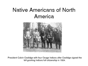 Native Americans of North America