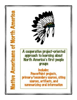 Native Americans of North America Projects
