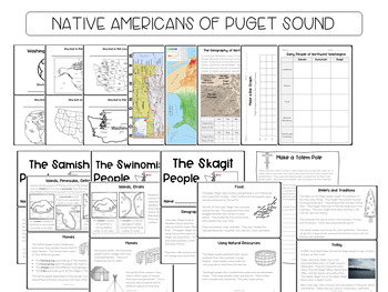 Native Americans of Puget Sound- Samish, Swinomish, Skagit