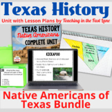 Native Americans of Texas Bundle with Lesson Plans