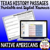 Native Americans of Texas Passages {Printable and Digital}