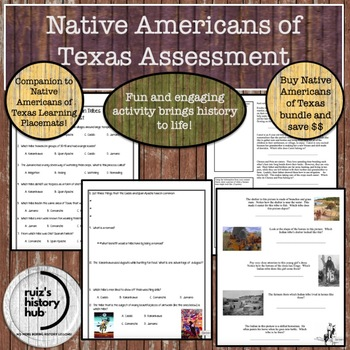 Native Americans of Texas TEST