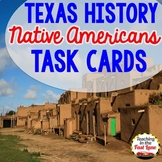Native Americans of Texas Task Cards with QR Codes