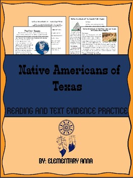 Native Americans of Texas Reading