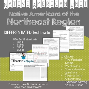Native Americans of the Northeast Region