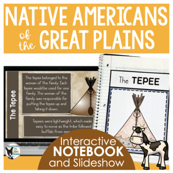 Native Americans of the Plains Interactive Notebook Pages