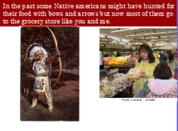 Native Americans or Indian Flipchart