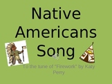 Native Americans song