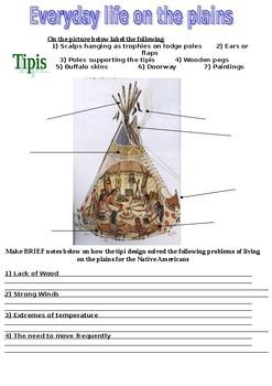 Native Americans workbook / booklet