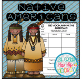 Native Americans...Informational Text, Crafts, Activities For the Primary Child!