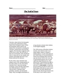 Native Americans: The Trail of Tears reading, questions, map, organizer