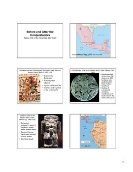 Native Arts of the Americas after 1300