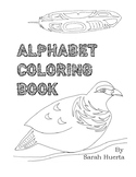 Native Inspired Alphabet Coloring Book - Formline (Northwe