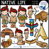 Native Life Clip Art - Whimsy Workshop Teaching