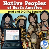 Native People of North America Unit with Informational Text & Lapbook