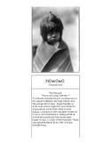 Native Peoples of Arizona, Native American, Montessori 3-Part Cards