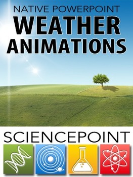 Native PowerPoint Animations I - Weather (Single User)