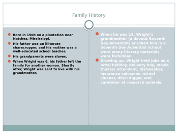 Native Son Background Info PowerPoint