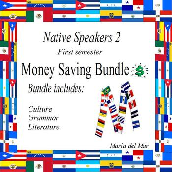 Native Speakers 2 (First semester) curriculum