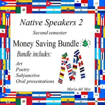 Native Speakers 2 (second semester)