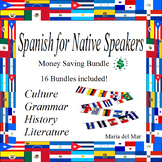 Curriculum Spanish for Native Speakers/Heritage Speakers