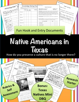 Native Texans: How do you perserve a culture that is no longer there? (PBL)