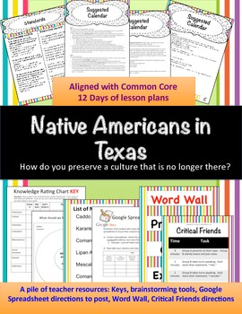 Native Texans: How do you perserve a culture that is no lo