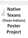 Native Texans Texas Indians Poster Project