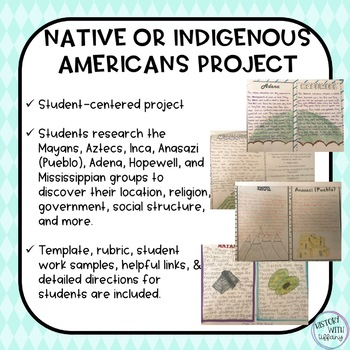 Native (Indigenous) Americans Project