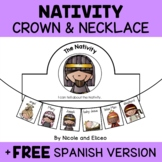 Nativity Christmas Activity Crown and Necklace